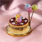 Limoges Happy Birthday Boxes